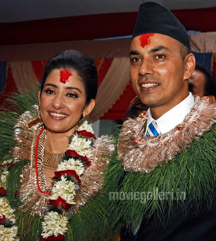 Manisha Koirala And Samrat Dalal