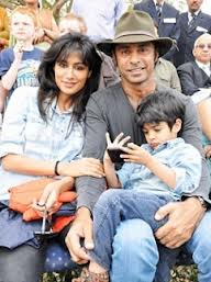 Chitrangda Singh and husband
