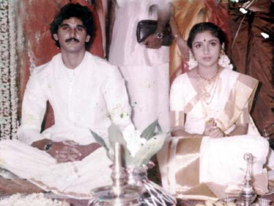 Revathy and SureshMenon